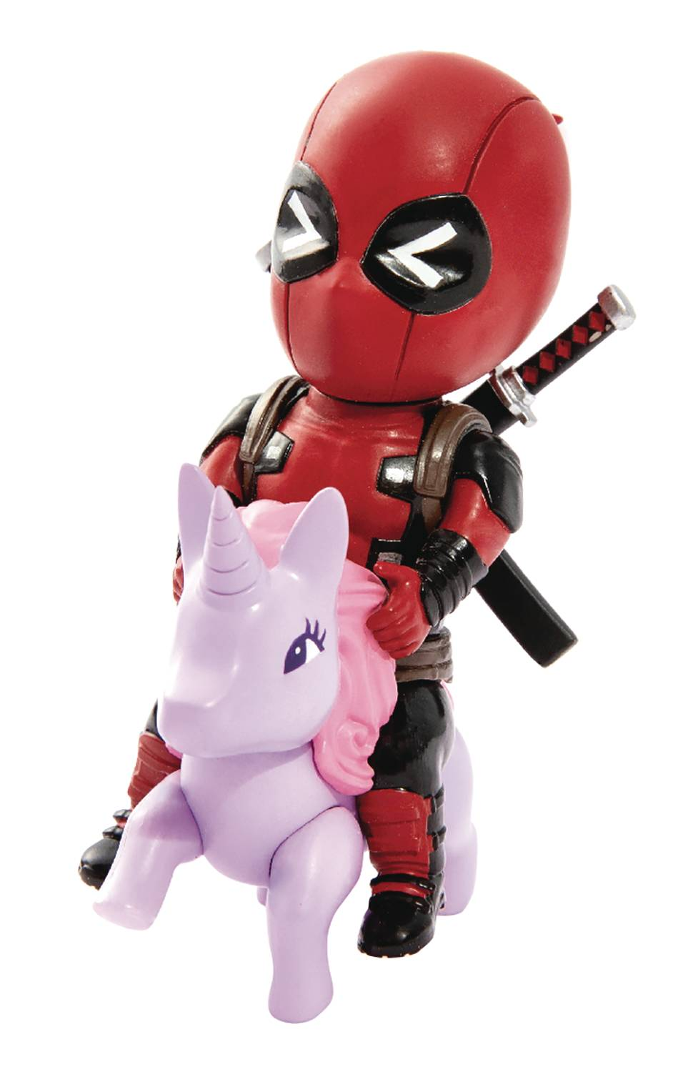Beast Kingdom Egg Attack Deadpool Pony Figure